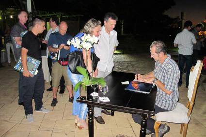 Lançamento do livro em Foz do Iguaçu.